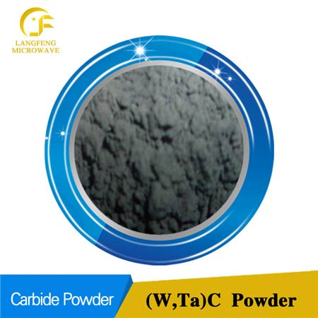 (W, Ta) C tungsten tantalum multiple carbide solid solution powder