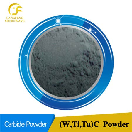 (W, Ti, Ta) C tungsten titanium tantalum multiple carbide solid solution powder