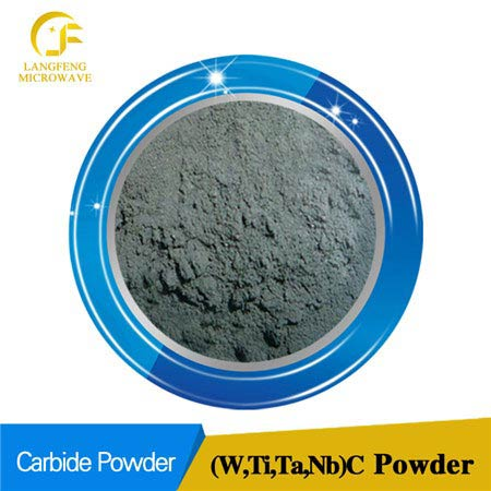 (W, Ti, Ta, Nb) C tungsten titanium tantalum niobium multiple carbide solid solution powder
