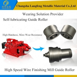 Self-lubricating High-End High-Speed High-Precision Milling Guide Roller/Guild Wheel